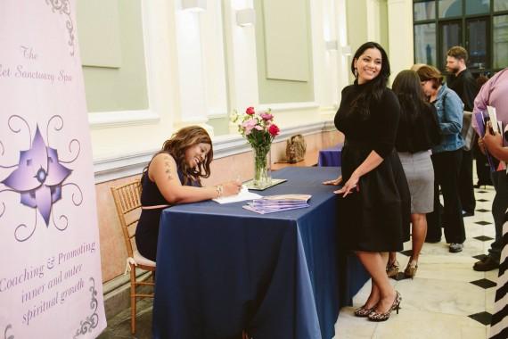 Tia Johnson - Book Signing
