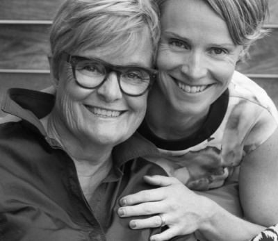 Kathy Taberner and Kirsten Siggins
