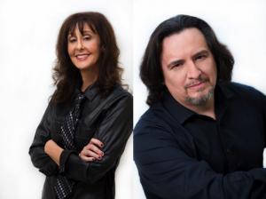 Fernando Perez and Suzy Stein