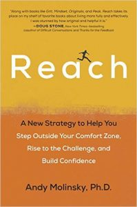 Reach: A New Strategy to Help You Step Outside Your Comfort Zone, Rise to the Challenge and Build Confidence COVER