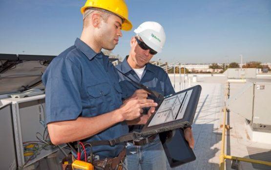 Tablet-construction-site