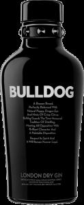 BULLDOG GIN bottle
