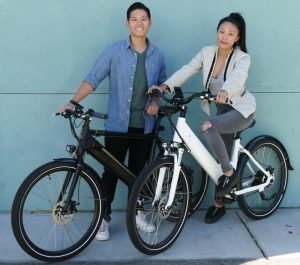 Josh Lam and Yina Liu of Espin eBikes