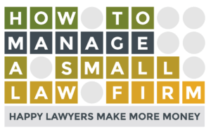 HHow to manage a small law firm LOGO