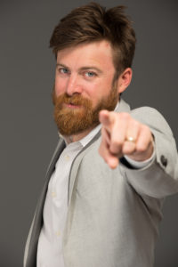 John Crestani Pointing