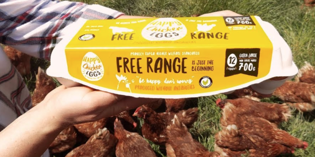 Happy Chicken Eggs: An Aussie, family owned farming company taking free range to the next level